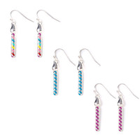Katy Perry Birthday Candle Drop Earrings Set of 3