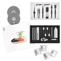 Deluxe Molecular Styling Kit with Cookbook | molecular gastronomy