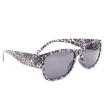 Leopard  Sunglasses Wayfarer Style Unique Glasses S003