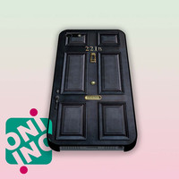221B Classic Old Sherlock Holmes Door iPhone Case Cover | iPhone 4s | iPhone 5s | iPhone 5c | iPhone 6 | iPhone 6 Plus | Samsung Galaxy S3 | Samsung Galaxy S4 | Samsung Galaxy S5