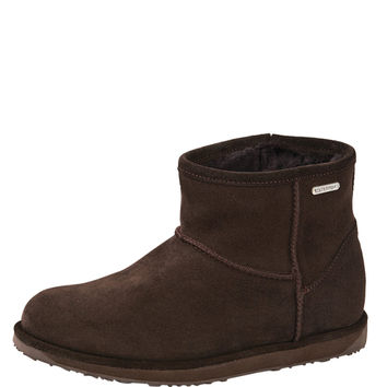 EMU Australia Women's Paterson 14 Mini Boot - Dark Brown -