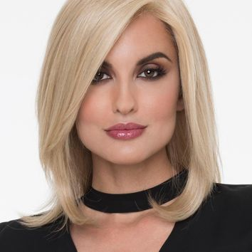 Zoey   Human Hair/ Synthetic Blend Wig (Mono Top)