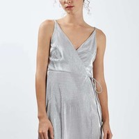 PETITE Pleated Wrap Dress - New In