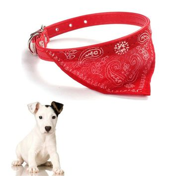 Dog collar Puppy Dogs Clothes Accessories Adjustable Pet Dog Cat Puppies Collars Scarf Neckerchief Necklace cachorro Supplies
