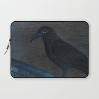 Raven Eye Laptop Sleeve by ES Creative Designs