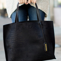 Park Avenue Tote Bag - Black