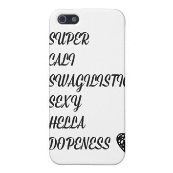 Super Cali I Phone 5 / 5S Case