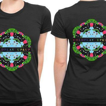 Coldplay Up And Up Cover 2 Sided Womens T Shirt