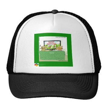 Funny Cow TV by Rick London Autistic Series Trucker Hat