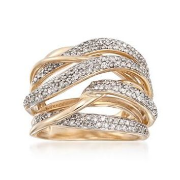 Ross simons 73 ct t w diamond wave from ross simons for Ross simons jewelry store