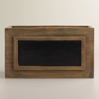 Owen Box With Chalkboard - World Market