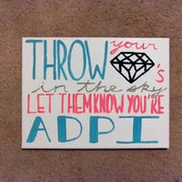 Alpha Delta Pi Canvas