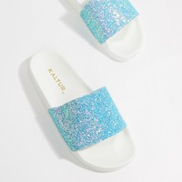 Kaltur Glitter Sliders at asos.com