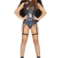 1pc Hologram Angel Costume