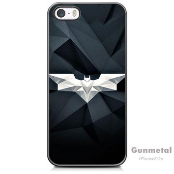 Batman Superhero Geometric Case For iPhone 5/ 5s /SE + Screen Protector + Stylus