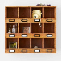 Milo Curio Storage Shelf- Brown One