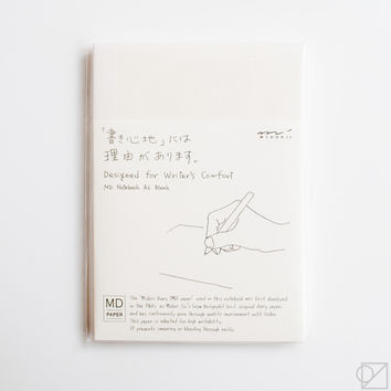 MD Notebook A6 Blank