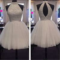 Homecoming Dress Short Prom Party Gown pst0819