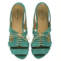 NEW ARRIVALS, Shirley Turquoise, Sandals,