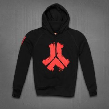 DEFQON.1 2013 HOODED SWEATER BLACK, WOMEN | Q-dance Store