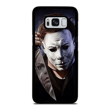 MICHAEL MYERS HALLOWEEN Samsung Galaxy S3 S4 S5 S6 S7 Edge S8 Plus, Note 3 4 5 8 Case Cover