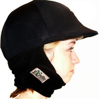 Saddles Tack Horse Supplies - ChickSaddlery.com Comfort Plus Cozy Winter Helmet Cover