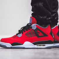 "Wish Atlanta | COMING SOON: Air Jordan 4 Retro - Fire Red ""Toro Bravo"" 