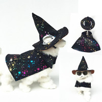 Halloween Wizard costume for dogs/cats