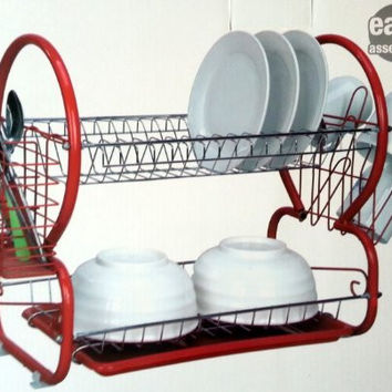 Mr. Clean Kitchen by Naturally Home - 2 Tier Dish Drainer