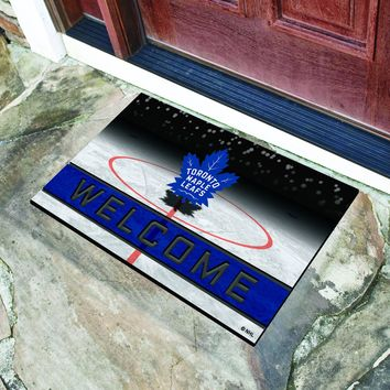 "NHL - Toronto Maple Leafs 18""x30"" Crumb RubberDoor Mat"