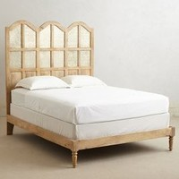 Paneled Villa Bed   by Anthropologie Neutral