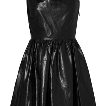 Leather dress | Miu Miu | US | THE OUTNET