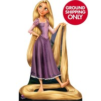Tangled Rapunzel Life Size Cardboard Cutout 61in