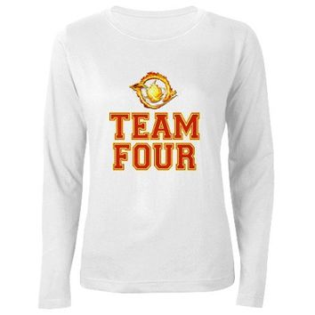 Team Four Divergent Long Sleeve T-Shirt on CafePress.com