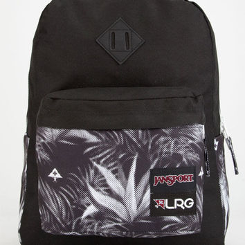 Jansport X Lrg Palm Hatchet Backpack Black One Size For Men 26275910001