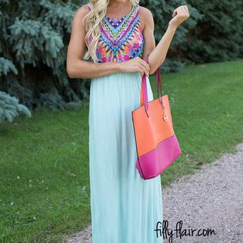 Good Vibes Maxi in Mint