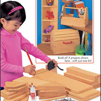 Young Woodworker's Project Kit at Toys to Grow On