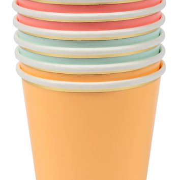 Happy Birthday Neon Party Cups