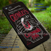 Crowley Supernatural Quote Art iPhone 6s 6 6s+ 5c 5s Cases Samsung Galaxy s5 s6 Edge+ NOTE 5 4 3 #quote dt