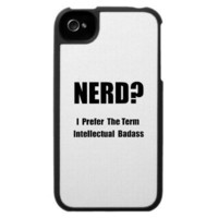 Nerd Badass Iphone 4 Covers from Zazzle.com