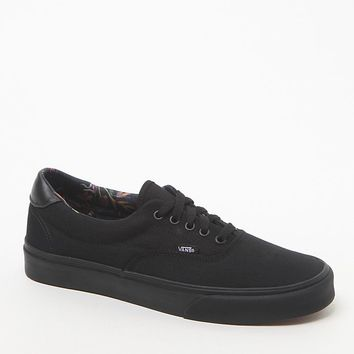 Vans Era 59 Black Bloom Shoes - Mens Shoes - Tan