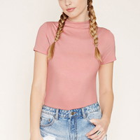 High-Neck Tee | Forever 21 - 2000222288
