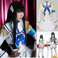 KILL la KILL Satsuki Kiryuin Cosplay Costume Halloween Uniform S-XL Custom-made