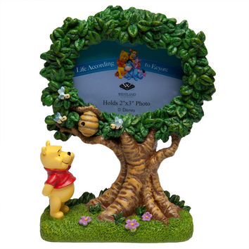 Winnie-the-Pooh - Special Tree Pooh Oval Picture Frame
