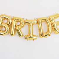 "FREE SHIPPING BRIDE Jumbo Balloon/40"" Love Ballon / Jumbo Balloons /Wedding Decor / Foil Letter Balloons/Engagament Party /Anniversary Party"