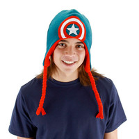 Captain America Shield Laplander Hat