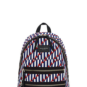 Lightweight Arrow Print Biker Backpack - Marc Jacobs