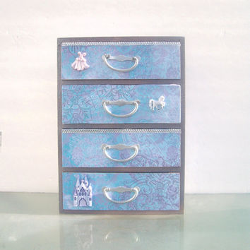 Purple Princess Jewelry Box by StrictlyCute on Etsy