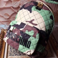 Moschino Oxford Cloth Backpack Bag