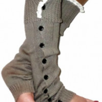 Cowgirl Slouchy Button Down Leg Warmers | Elusive Cowgirl